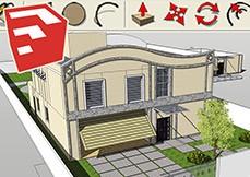 Curso SketchUp 2013 - Modelagem Básica de Residência
