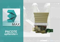 Pacote de Cursos apRender+ 3DS MAX Profissional
